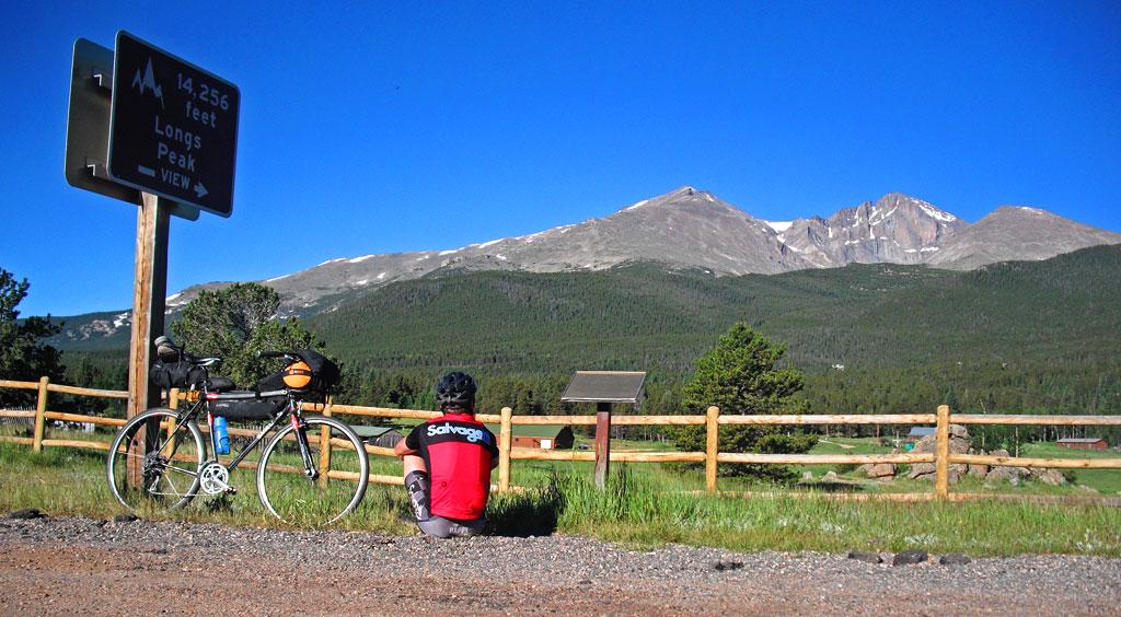 Longs Peak from the HW