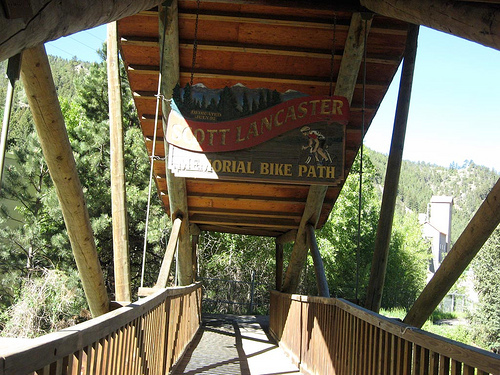 The Scott Lancaster Memorial Bike Path