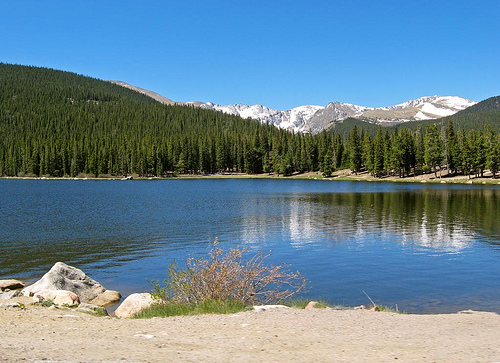 Echo Lake @ 10,200 Feet