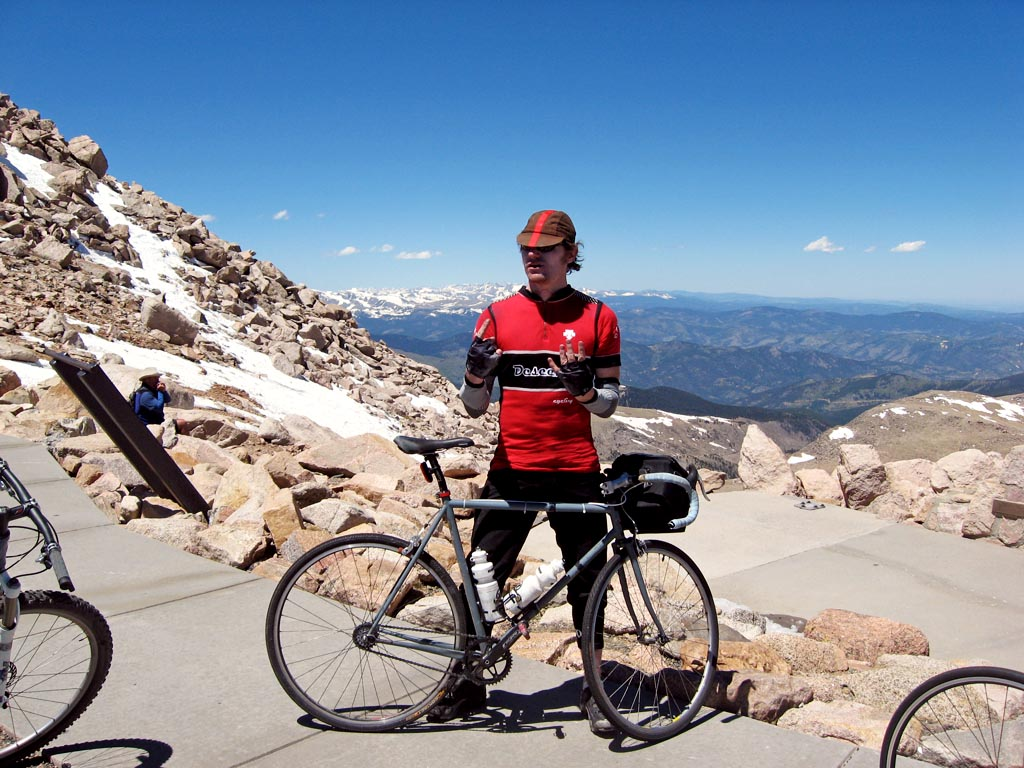 Mount Evans: 14,264 feet (4,350 metres)!