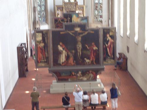 Isenheim Altarpiece, Matthias Grunwald.