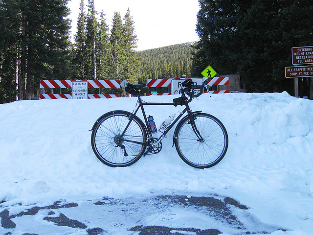 The last 13 Miles of the Mount Evans Scenic Byway