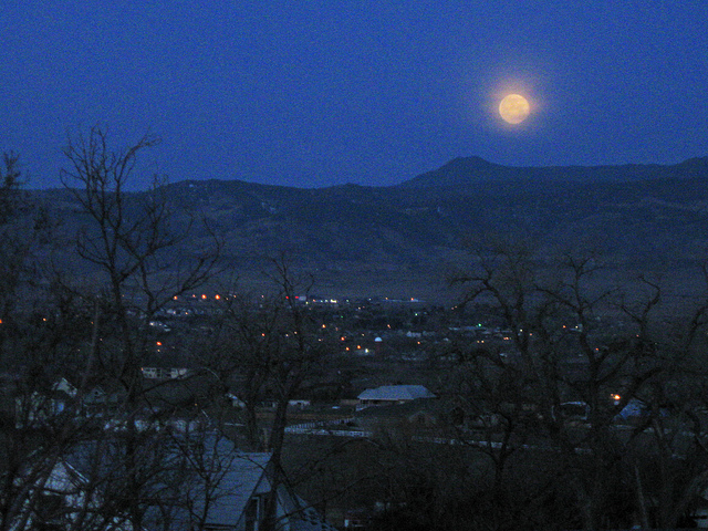 Super Moonset 3/20/11
