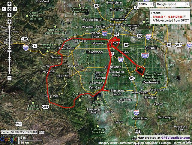 4/17/11 to 4/24/11 Bike Rides!