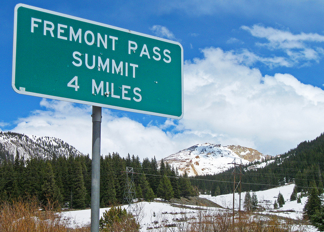 Freemont Pass CO