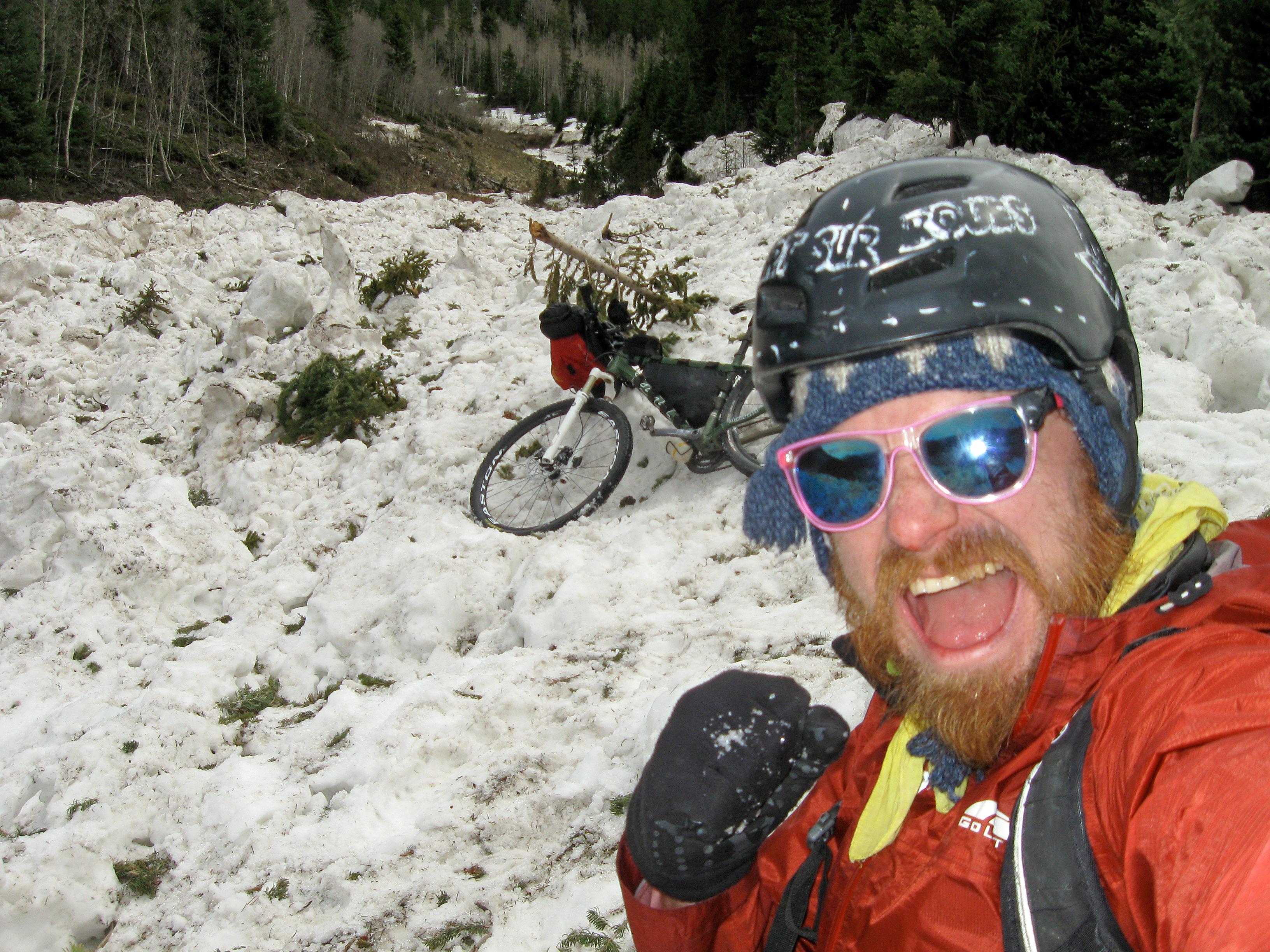 Avalanche! On the Bikepath