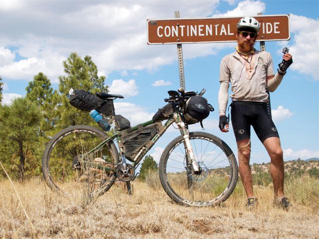 Gila National Park - holding my broken pedal