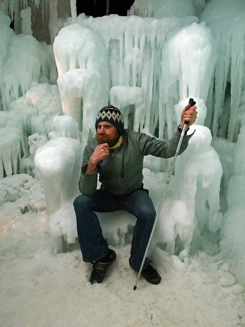 I am the king of the Ice Castles!