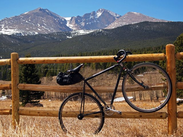Longs Peak off of Highway 7