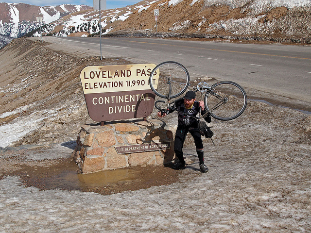 Obligatory Dorky Photo on Loveland Pass