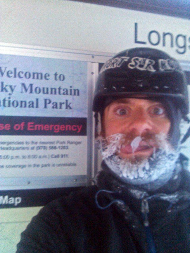 Longs Peak Winter TH