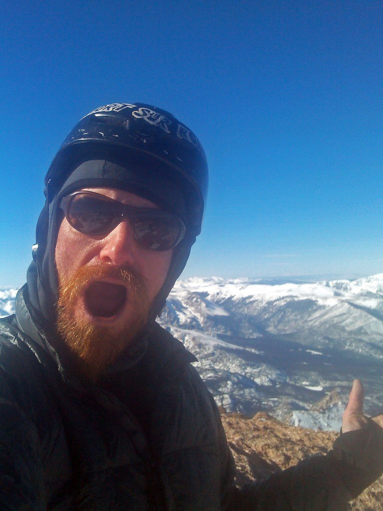 Longs Peak Winter Summit