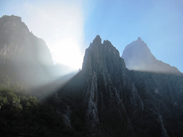 El Potrero Chico.. second day of climbing..