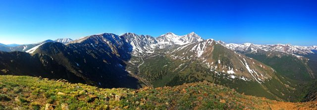 Stevens Gulch from the east