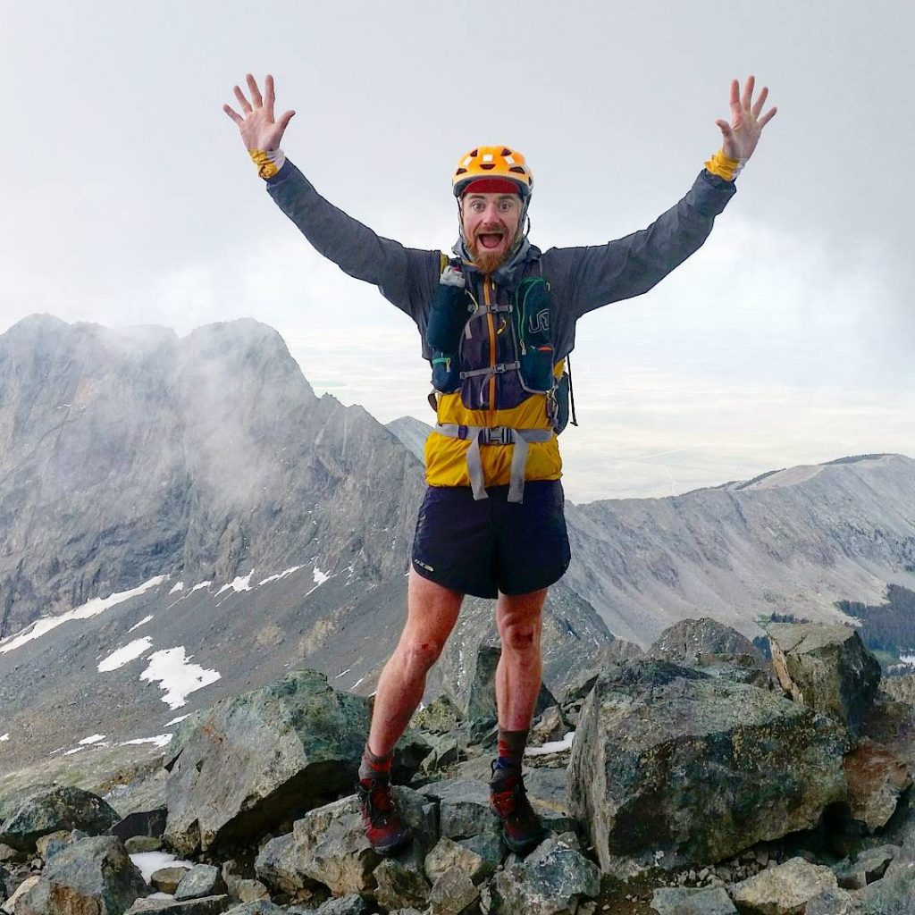 The psyche is high on Blanca Peak after the traverse from Little Bear