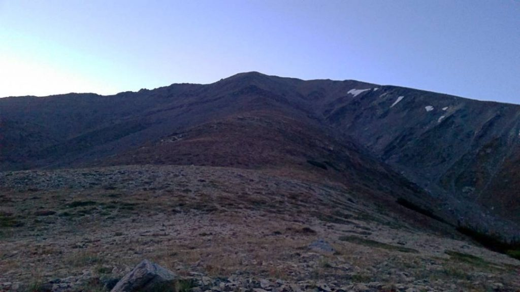 The West Ridge of Mt. Elbert