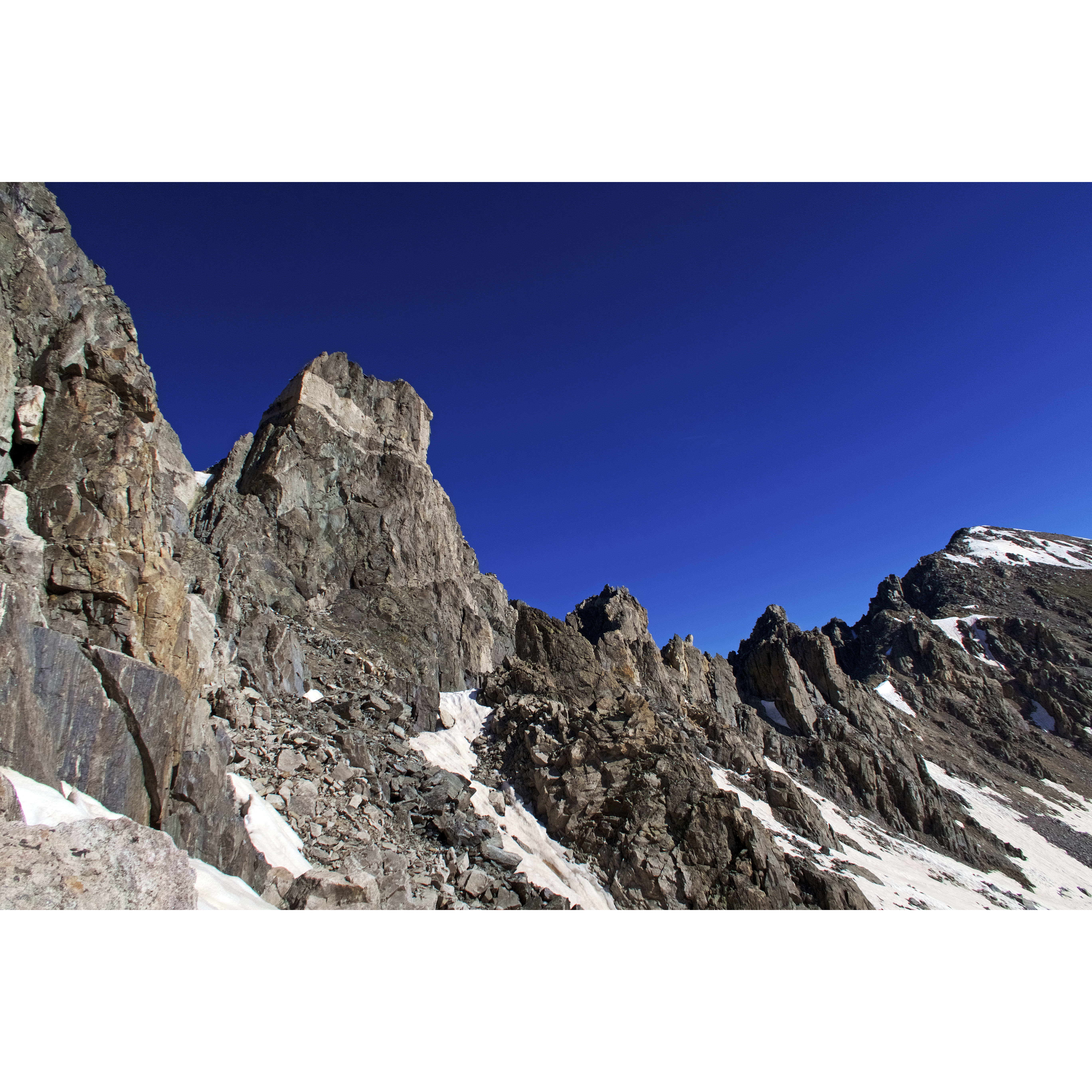 The Fletcher - Atlantic Traverse in the Mosquito/Tenmile Range