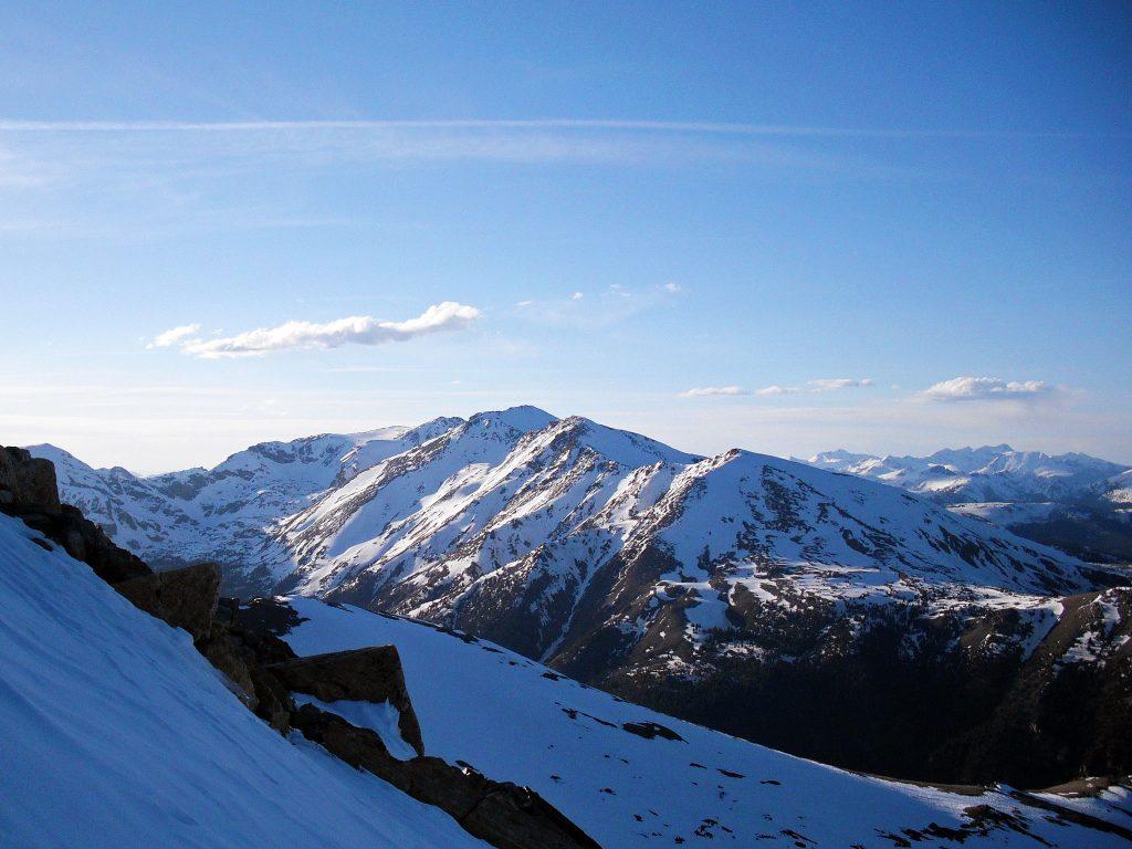 Mt. Massive from Mt. Elbert