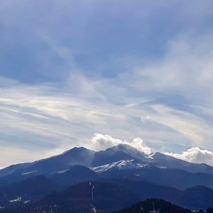 Longs Peak from Estes Park