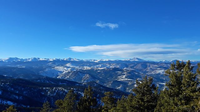 Payoff Views on the Summit of Green Mountain