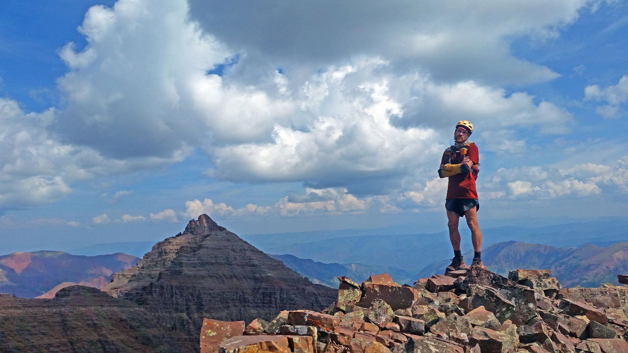 On Thunder Pyramid Peak