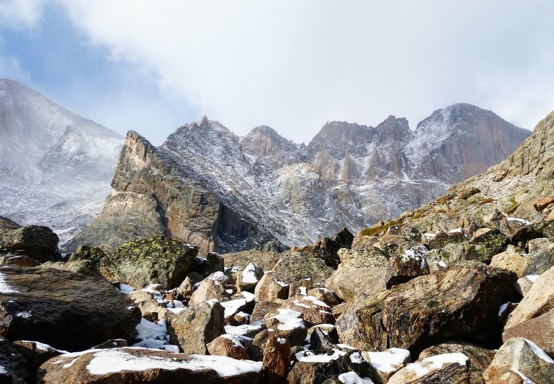 Chasm Junction, Longs Peak