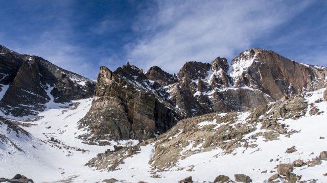 Longs Peak from Chasm Junction