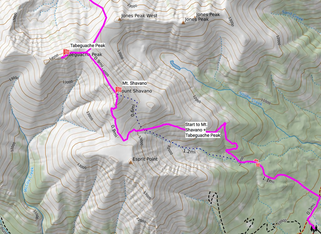 The main Nolans route is in magenta.