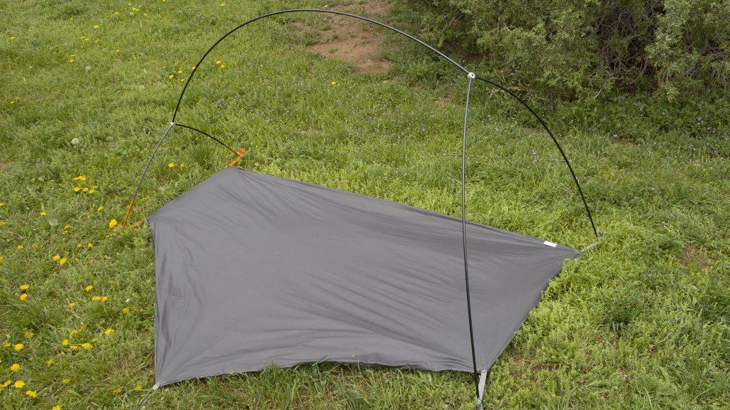 The Copper Spur HV UL1 Bikepack Tent main pole backbone