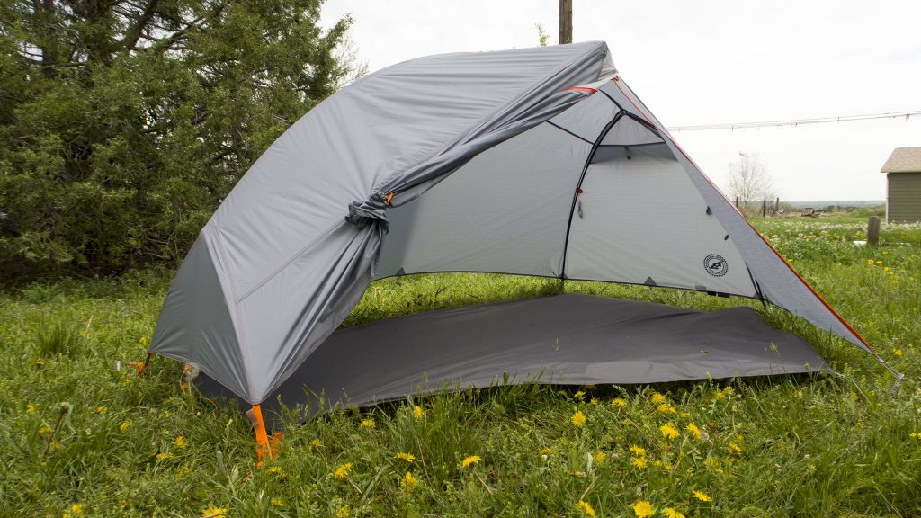 The Copper Spur HV UL1 Bikepack tent in