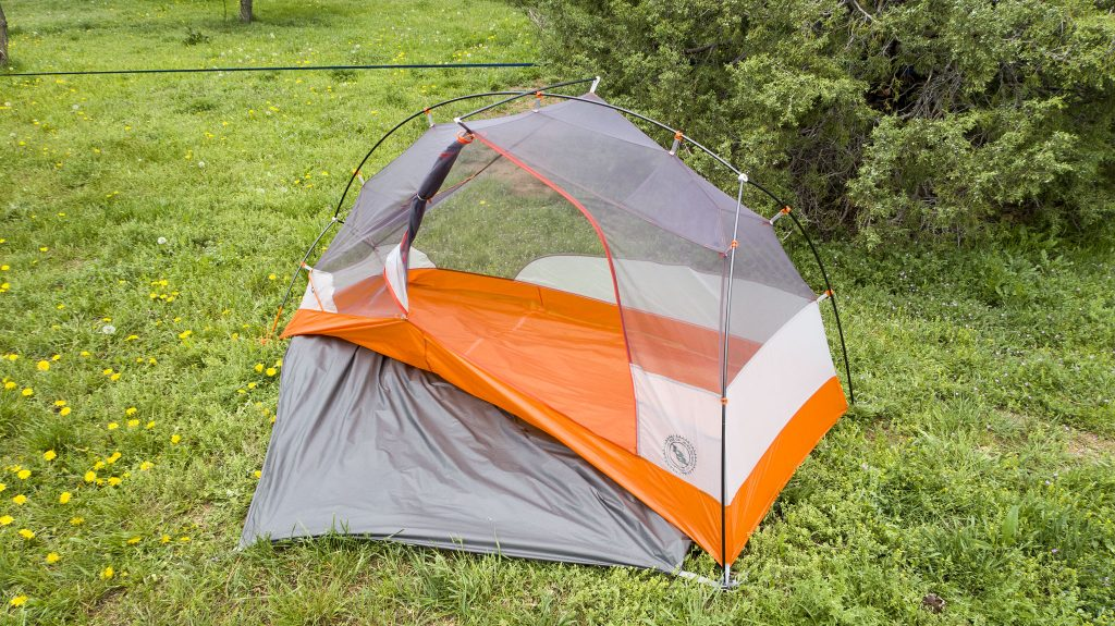 The Copper Spur HV UL1 Bikepack Tent body