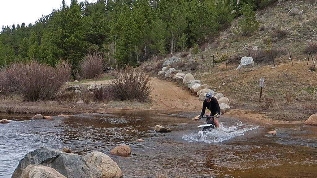 Creek Crossing on FS 505