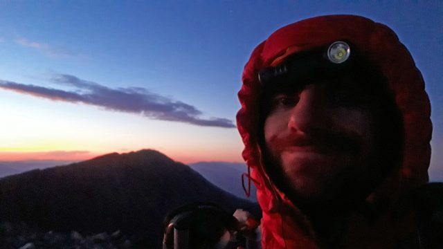 Summit of Tabeguache, as the sun was rising