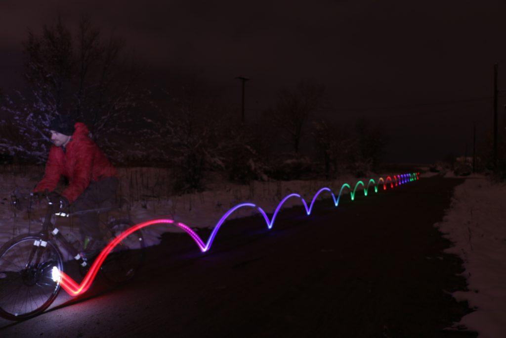 Nite Ize SpokeLit – Disc-O Select Rechargeable Light