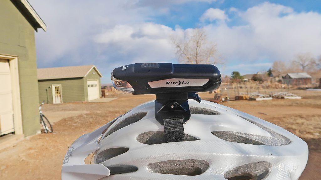 Radiant 750 Rechargeable Bike Light w/helmet mount