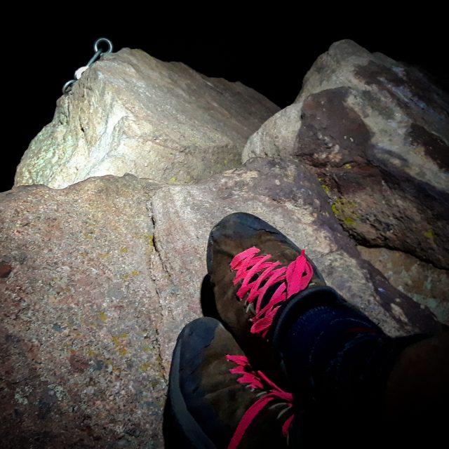 Night on the summit of the First Flatiron