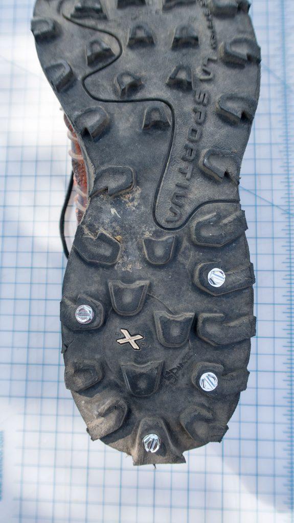 reasonable screw shoe pattern for shoulder season duty