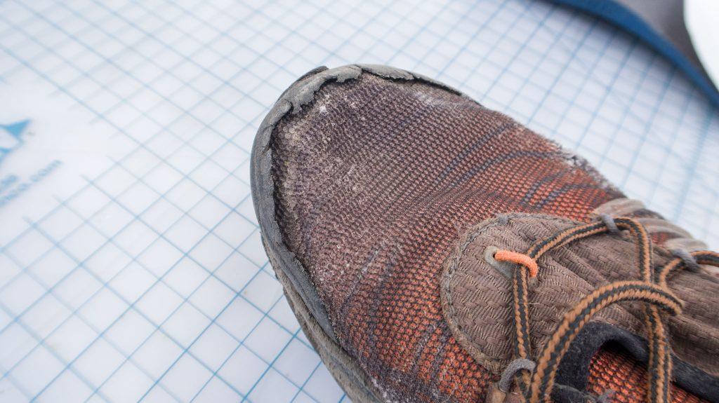 toe cap damage we want to avoid