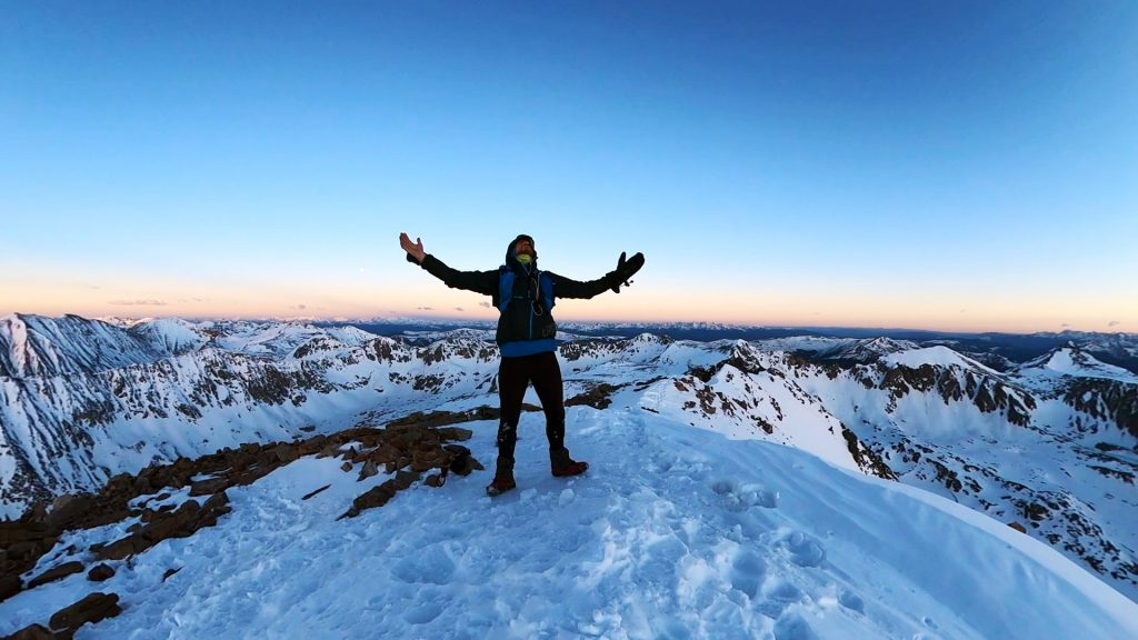 Summit of Quandary Peak