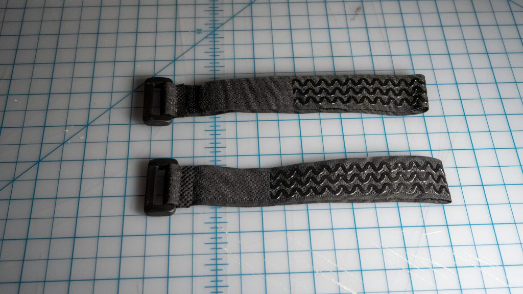 Included battery/frame straps