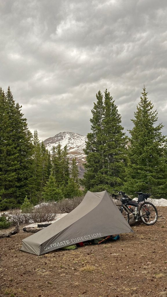 Sometimes when you seek, you find: four star, legal dispersed camping on Guanella Pass