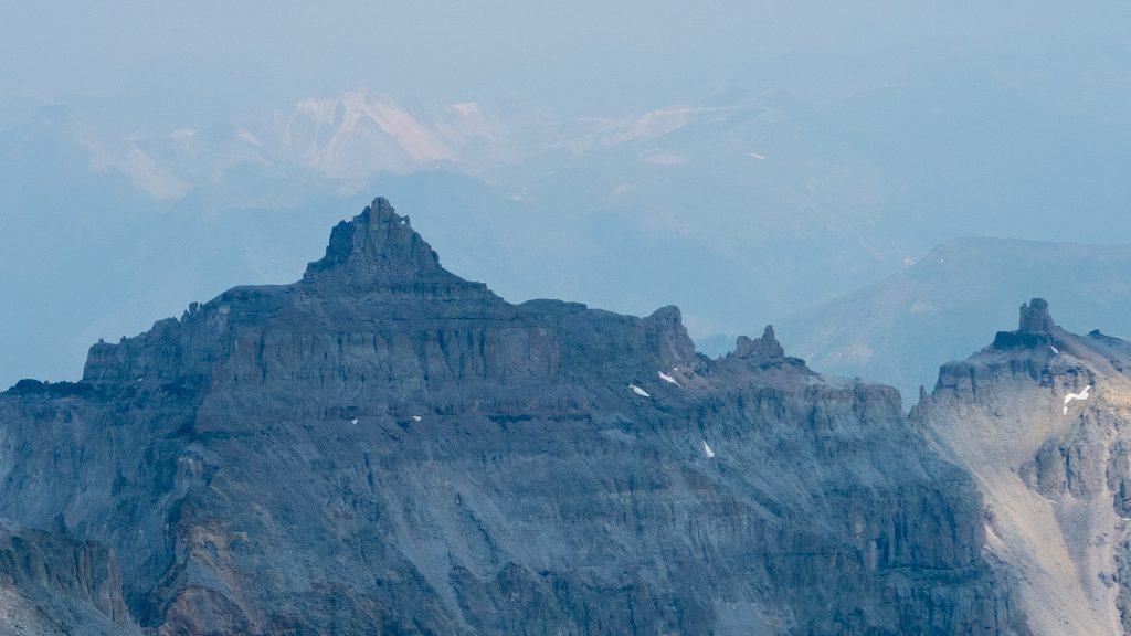 Teakettle from the summit of Sneffels