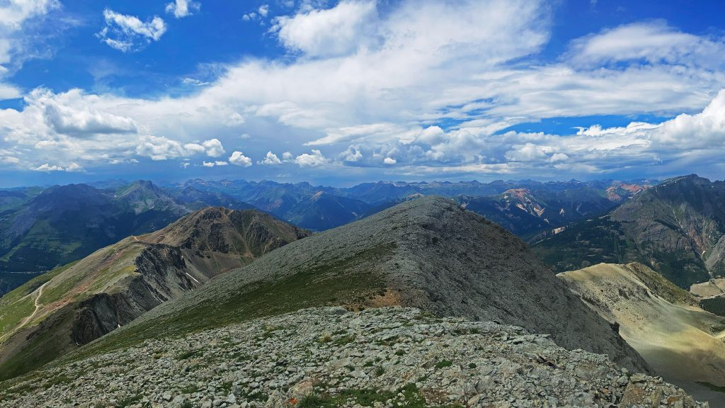 Summit views from Kendall Mountain