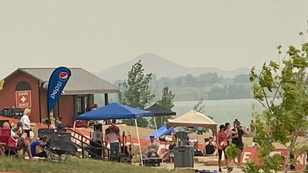 Air Quality from Boulder Reservoir