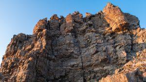 Crux of the Oklahoma/Massive traverse