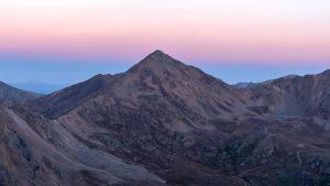 Casco Peak from Bull Hill