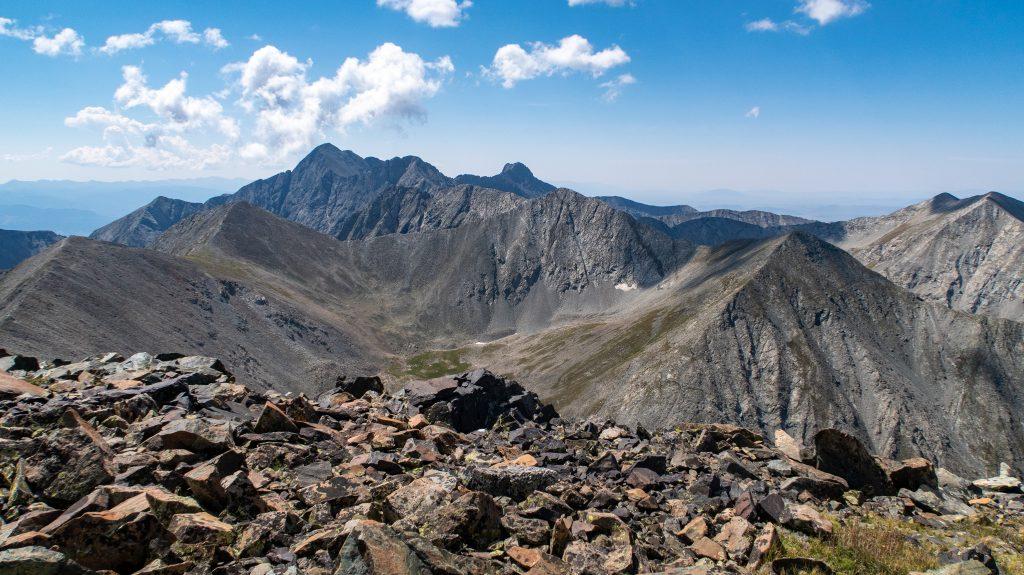 A sea of peaks seen from California Peak
