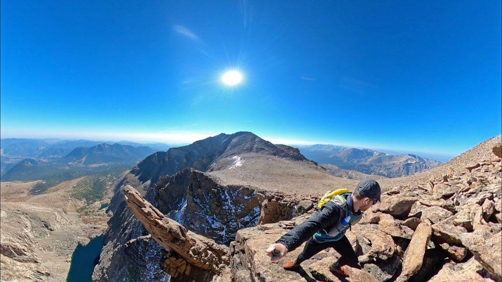 Mt. Meeker from SE Longs