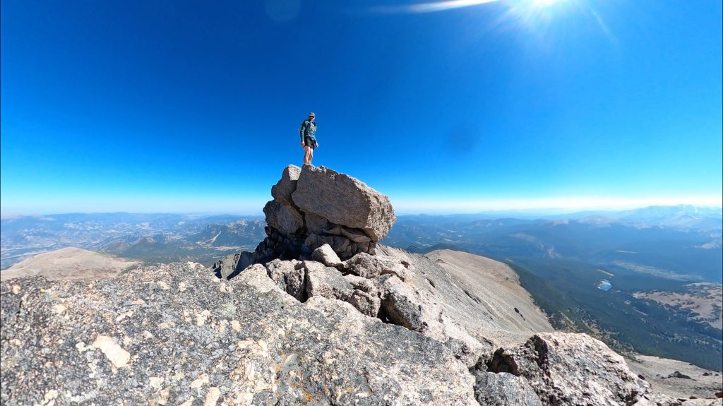 Summit block of Mt. Meeker