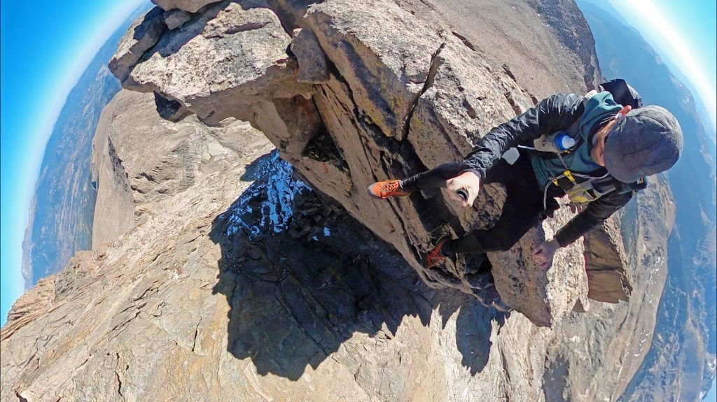 Hanging out on top of SE Longs